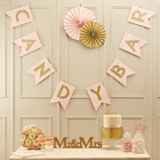 Picture of Pastel Perfection - Candy Bar Bunting