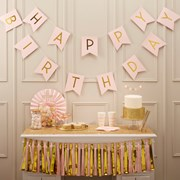 Picture of Pastel Perfection - Happy Birthday Bunting