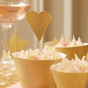 Picture of Pastel Perfection - Cupcake Toppers - Gold