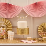Picture of Pastel Perfection - Fan Bunting - Pastel Pink