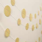 Picture of Pastel Perfection - Circle Garland - Gold