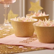 Picture of Pastel Perfection - Cupcake Wraps - Gold Glitter