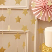 Picture of Pastel Perfection - Gold Star Garland