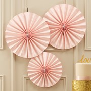Picture of Pastel Perfection - Circle Fan Decorations - Pink