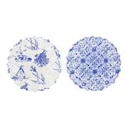 Picture of Party Porcelain - Blue Mini Doilies
