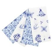 Picture of Party Porcelain - Blue Picnic Napkins