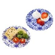 Picture of Party Porcelain - Blue Canape Plates