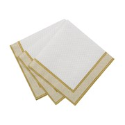 Picture of Party Porcelain - Gold Cocktail Napkin