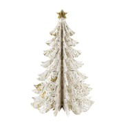 Picture of Party Porcelain - Gold Table Top Tree Decoration