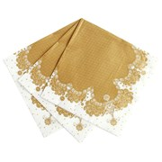Picture of Party Porcelain - Gold Napkin
