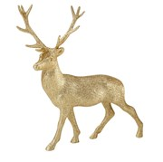 Picture of Party Porcelain - Gold Glitter Reindeer