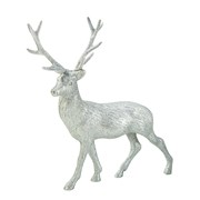 Picture of Party Porcelain - Silver Glitter Reindeer