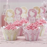 Picture of Princess Party - Cupcake Wraps & Toppers