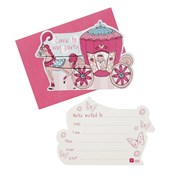 Picture of Princess Party - Kitten Postcard Invitations