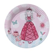 Picture of Princess Party - Kitten Plate