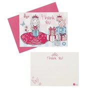 Picture of Princess Party - Kitten Postcard Thank You Cards