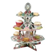 Picture of Pastries & Pearls - Three Tiered Cakestand