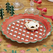 Picture of Christmas Patterns - Paper Plates