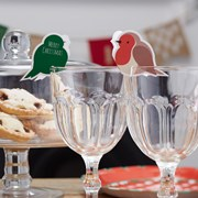 Picture of Christmas Patterns - Glass Decorations