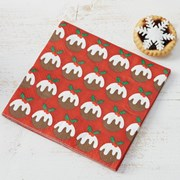 Picture of Christmas Patterns - Pudding Napkin