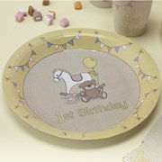 Picture of Rock-a-bye Baby - Paper Plates - 1st Birthday