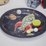 Picture of Space Adventure - Paper Plates
