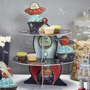 Picture of Space Adventure - Cake Stand