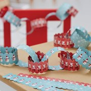 Picture of Christmas Snowman - Paper Chains