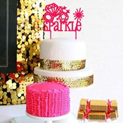 Picture of Sparkle Cake Topper