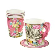 Picture of Truly Alice - Whimsical Cup & Saucers
