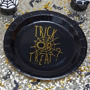 Picture of Trick Or Treat - Foiled Plate