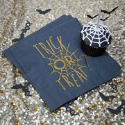 Picture of Trick Or Treat - Foiled Napkin
