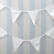 Picture of Vintage Lace - Fabric Bunting - White