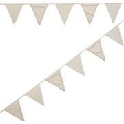 Picture of Vintage Lace - Fabric Bunting - Ivory