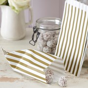 Picture of Vintage Lace - Candy Bags - Gold