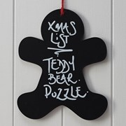 Picture of Vintage Noel - Gingerbread Man Chalkboard Sign