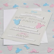 Picture of Little Lady or Mini Mister - Invitations - Baby Shower
