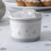 Picture of Shimmering Snowflake - Treat Tubs